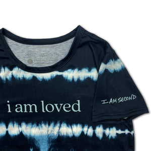 I Am Second+SHE WHO IS Tie Dye Tee - I Am Loved