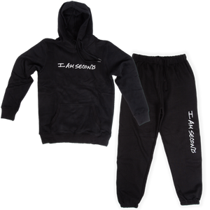 Unisex I Am Second Jogger Set