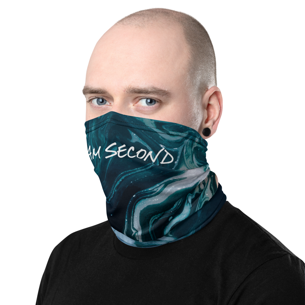 Indigo Neck Gaiter and Mask