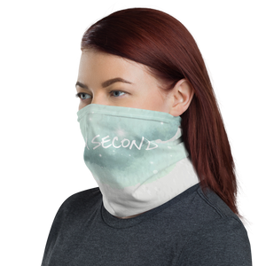 Green Neck Gaiter and Mask