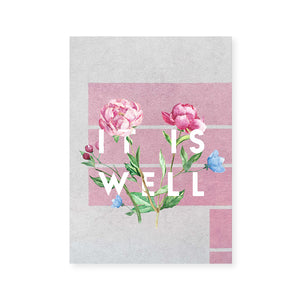 It Is Well 5x7 Print