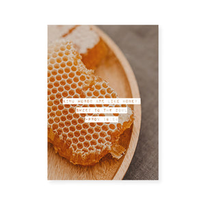 Like Honey 5x7 Print
