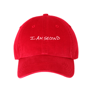 I Am Second Red Richardson Hat