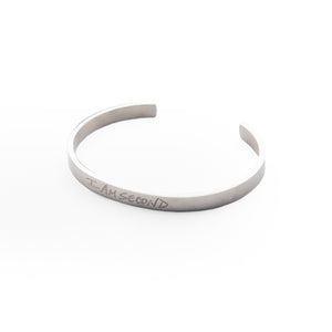 I Am Second Silver Bracelet