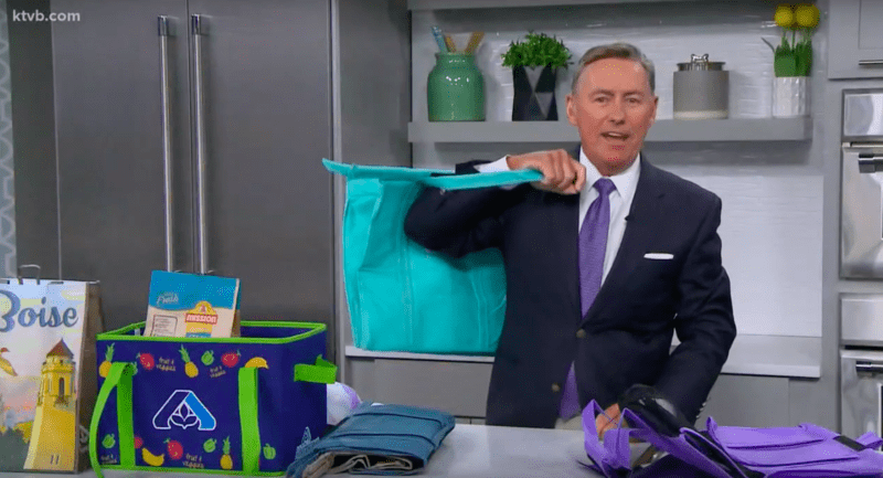 KTVB7 - Lotus Trolley Bag featured for Plastic Free July