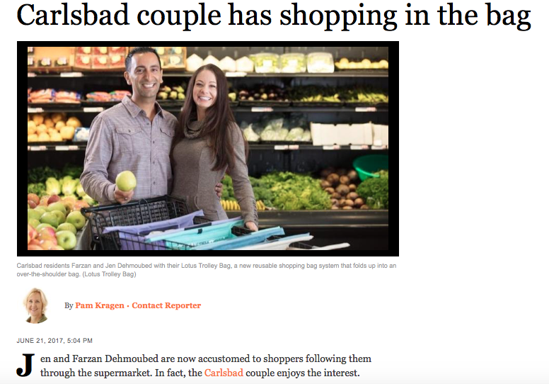 PACIFIC - Carlsbad couple has shopping in the bag
