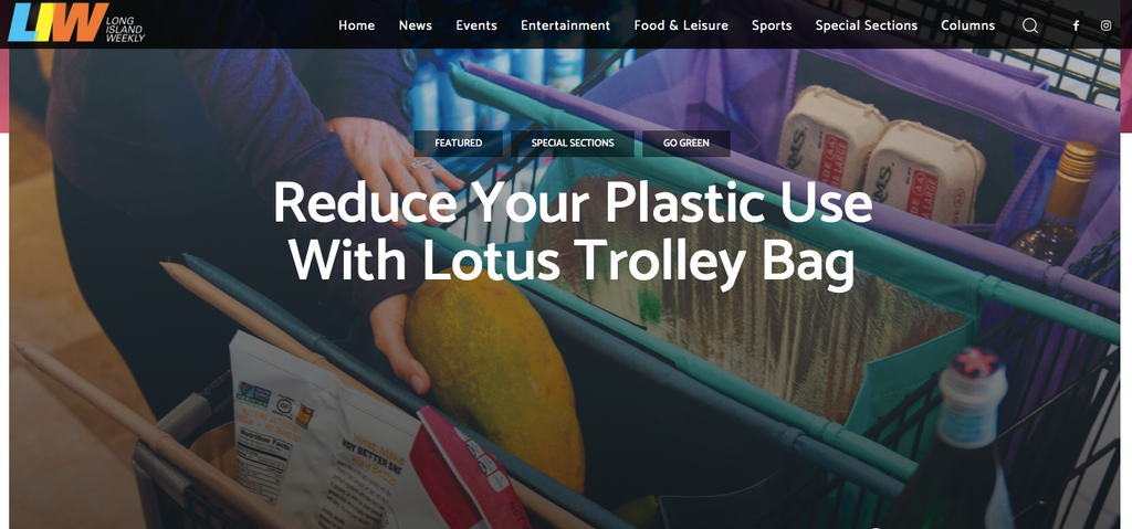 Lotus Trolley Bag in Long Island Weekly