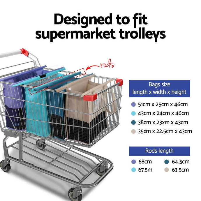 What are trolley bags?