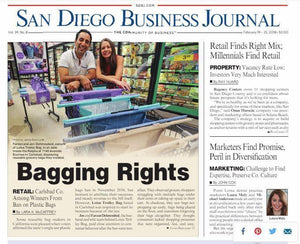 San Diego Business Journal - Baggin Rights