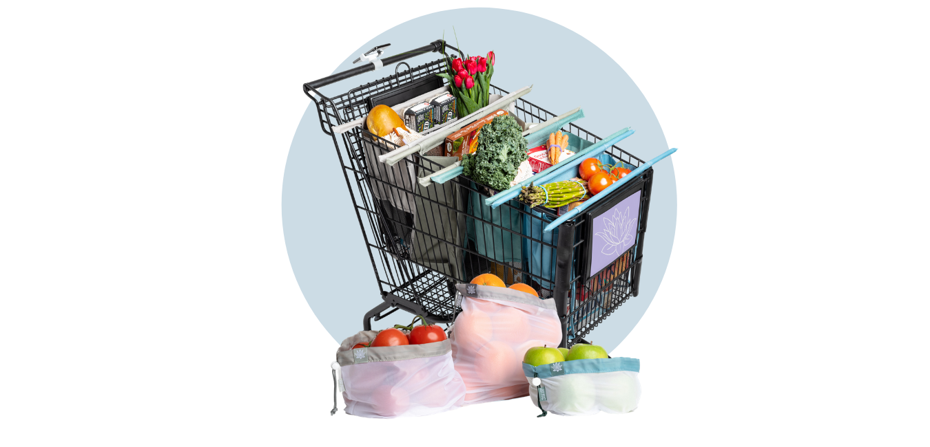 hero image cart and produce bags