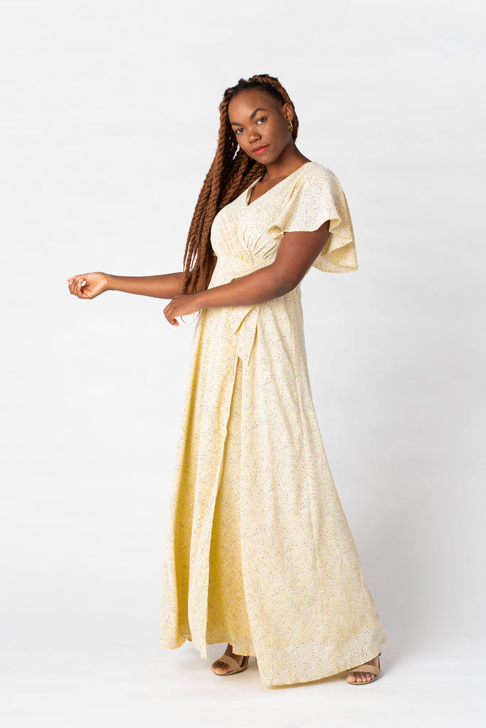 Spring Fling Wrap Maxi Dress WOMEN'S DRESS Arbor
