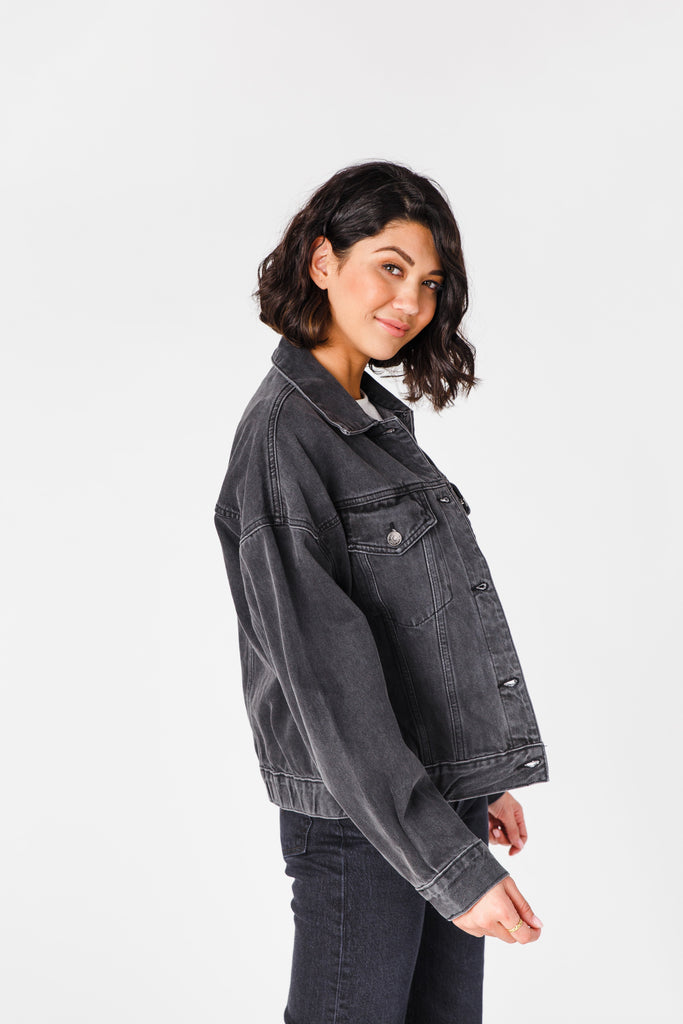 Allison Denim Jacket WOMEN'S DENIM JACKET Tea N Rose