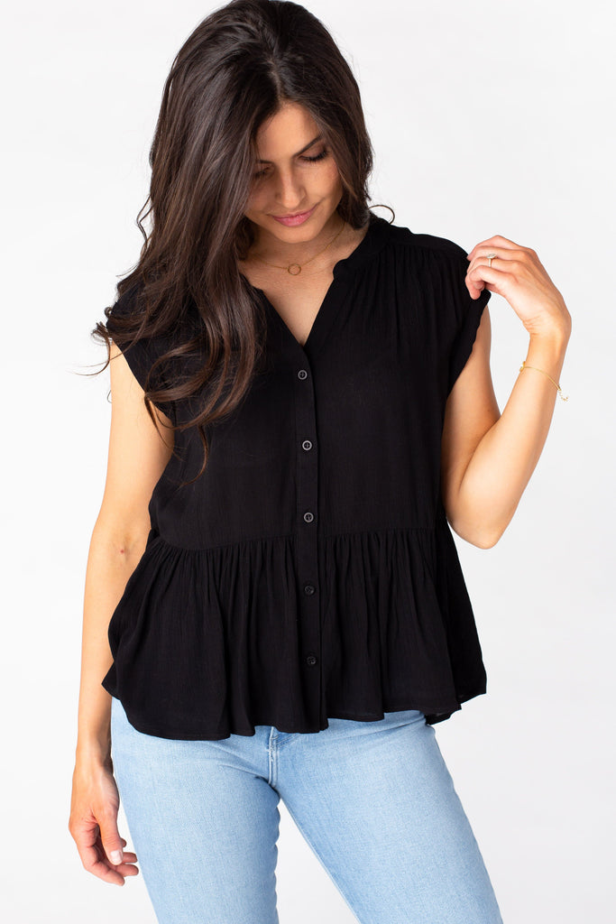 Malibu Tiered Top WOMEN'S TOP Be Cool