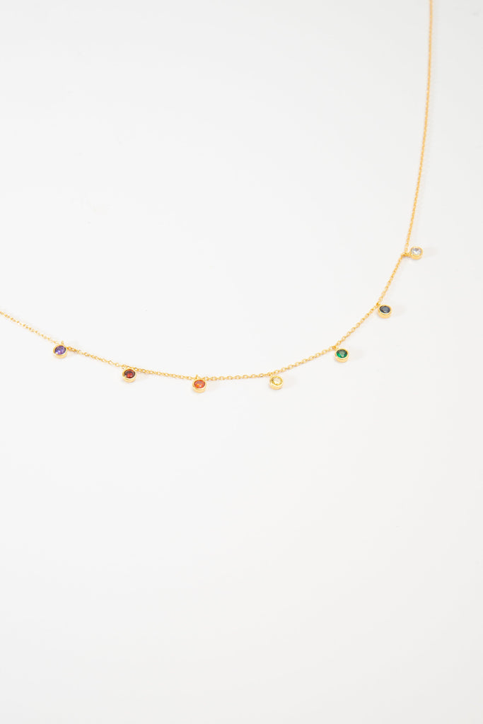 Jeweled Color Necklace Shopify Called to Surf
