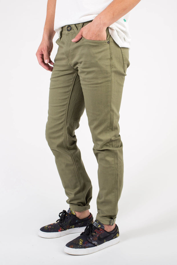 Volcom - Vorta 5 Pocket Pant Variable Called to Surf 30 Green
