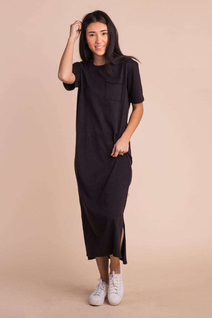 Kira Midi Length Tee Dress Variable Called to Surf