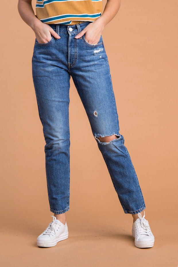 Levis - Skinny Sansome Jeans WOMEN'S JEANS Called to Surf 24 Denim