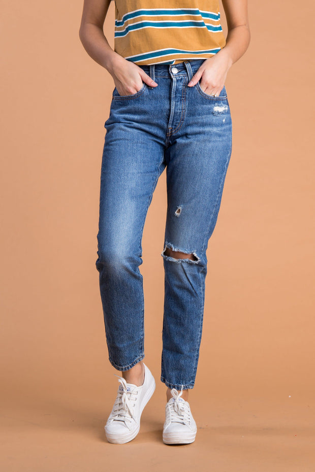 Levis - Skinny Sansome Jeans WOMEN'S JEANS Called to Surf