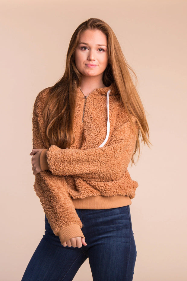 Seymour Sherpa Pullover - S&B WOMEN'S JACKETS Called to Surf L *FINAL SALE* Mocha