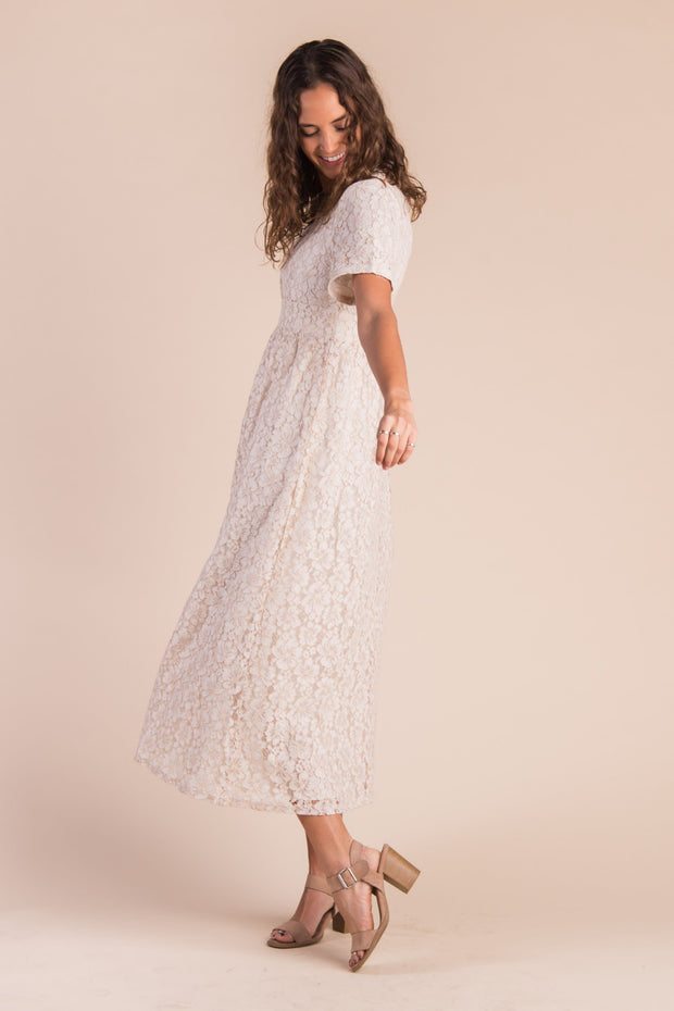 Carissa Lace Maxi - S&B WOMEN'S DRESS Called to Surf