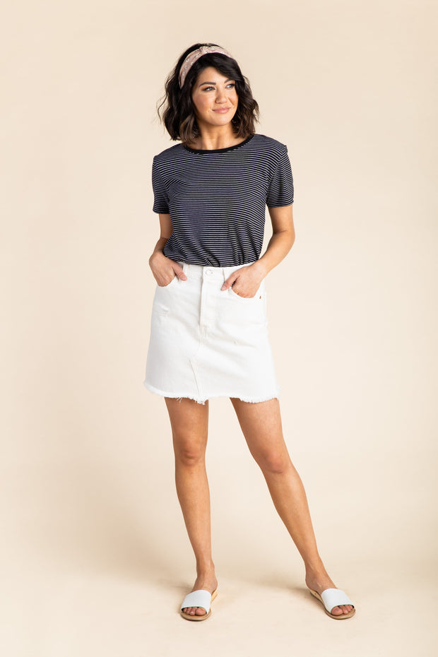 Levis - Deconstructed Button Fly Skirt WOMEN'S SKIRTS Levi's