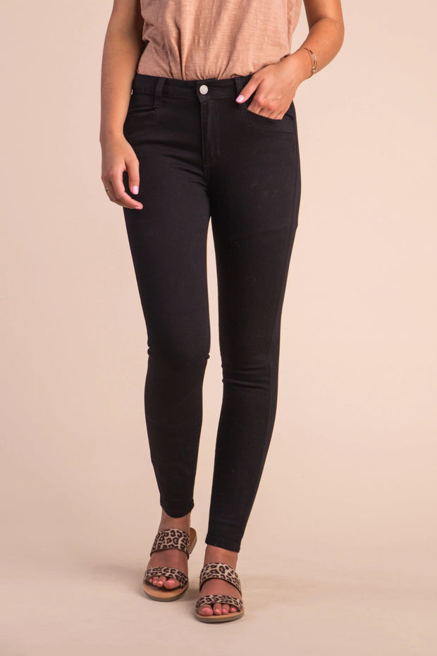 Milligan Skinny Jeans Variable Called to Surf 24 Black
