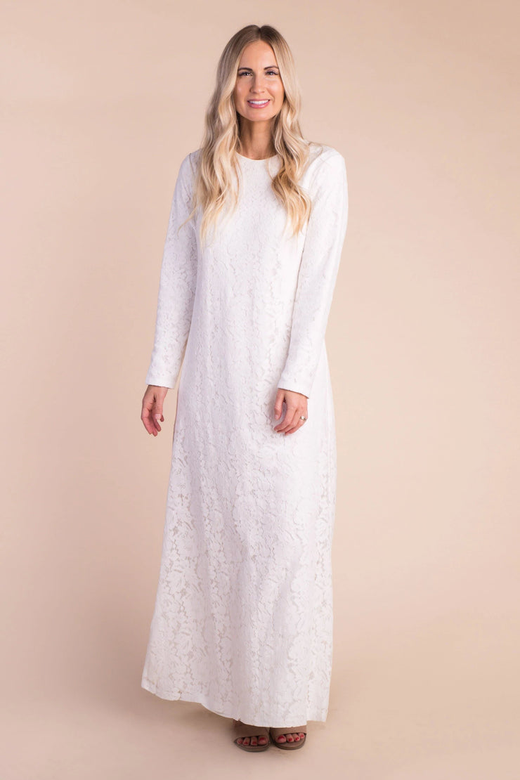 Tara Lace Sheath Maxi-S&B Variable Called to Surf XS White
