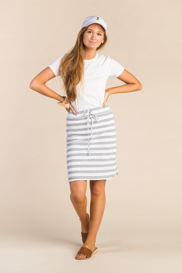 Everyday Thick Striped Knit Skirt WOMEN'S SKIRTS Called to Surf