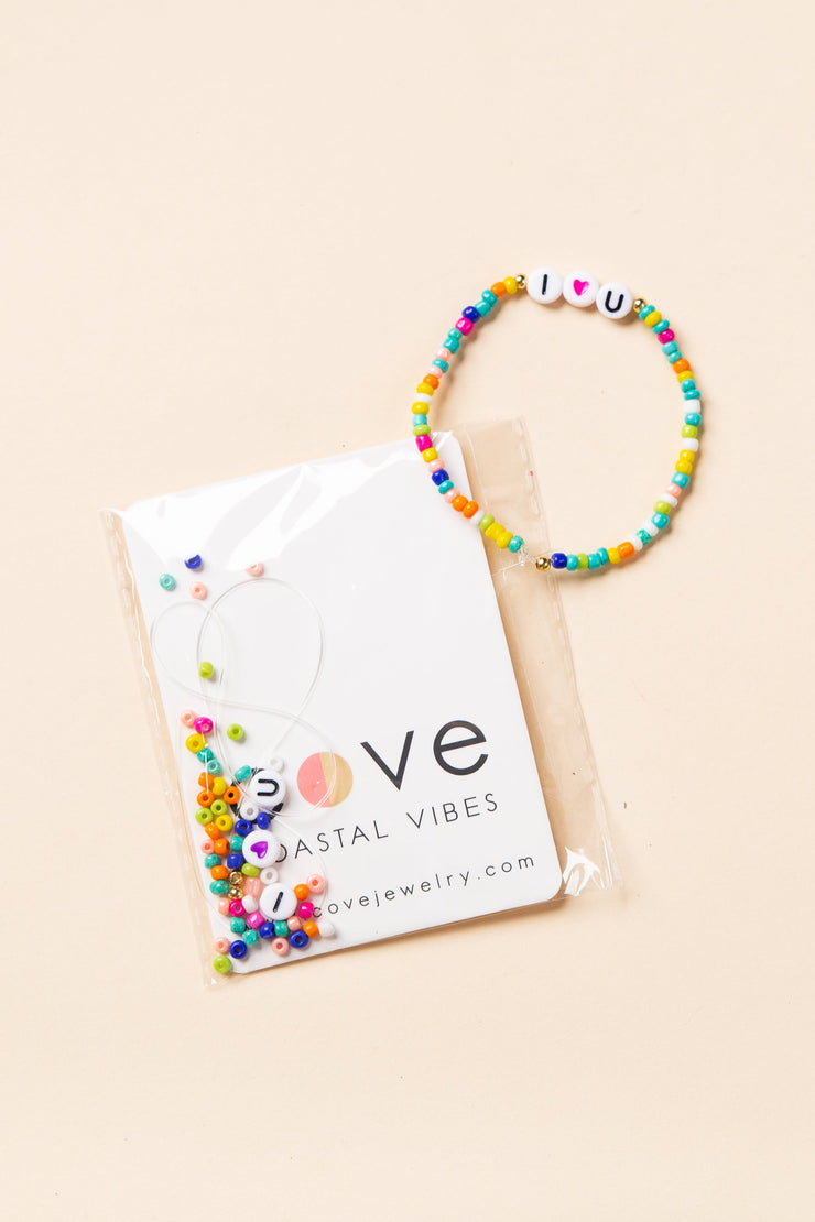 """I Love You"" Bracelet Kit WOMEN'S JEWELRY Cove"