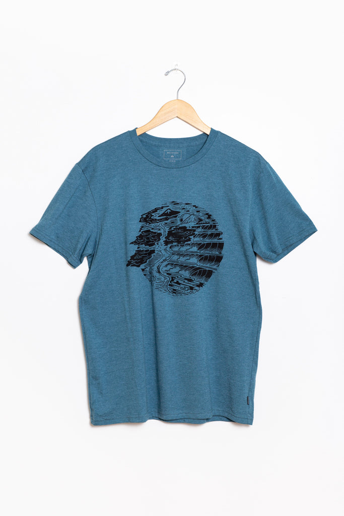 Quicksilver - Sanriku Coast Tee MEN'S T-SHIRT Quicksilver M BPHH