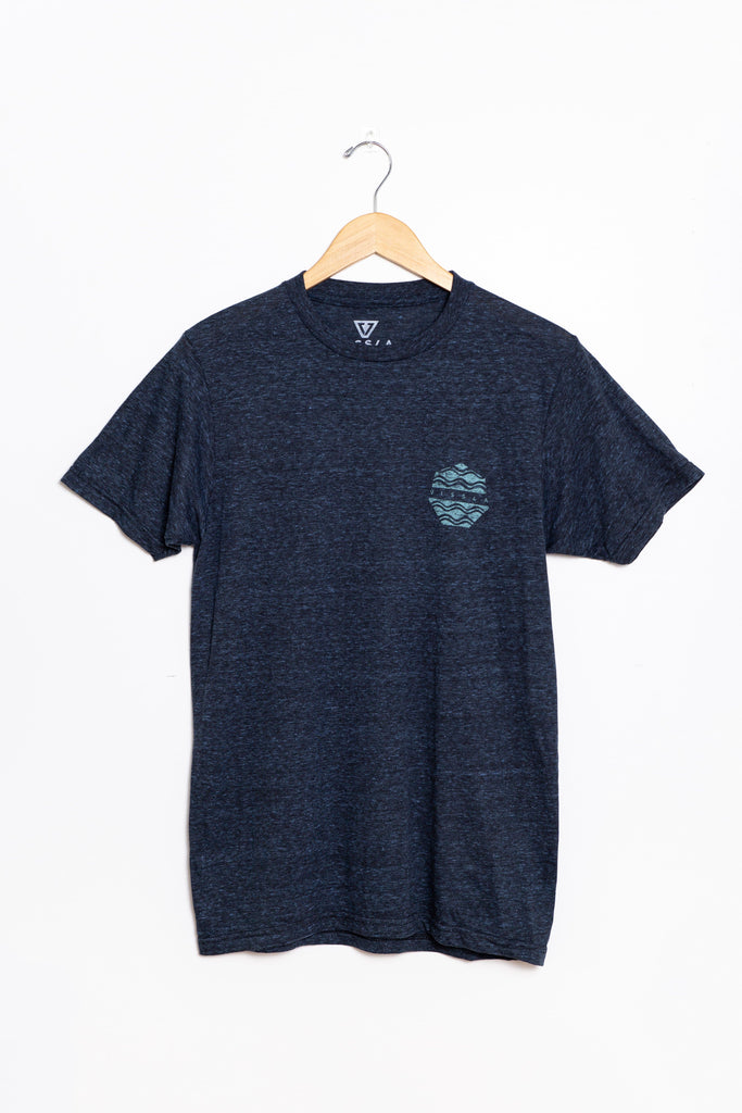 Vissla - A Drifting Snow Heather Tee MEN'S T-SHIRT Vissla