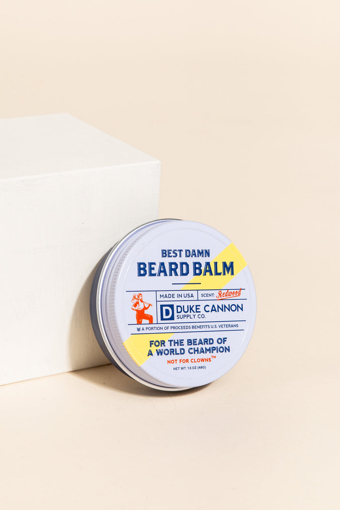 BEST BEARD BALM MEN'S ACCESSORIES Duke Cannon