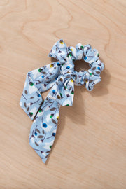 Up and Away Hair Scrunchie Variable Called to Surf One Size Sky Blue