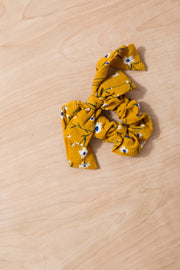 Up and Away Hair Scrunchie Variable Called to Surf One Size Mustard