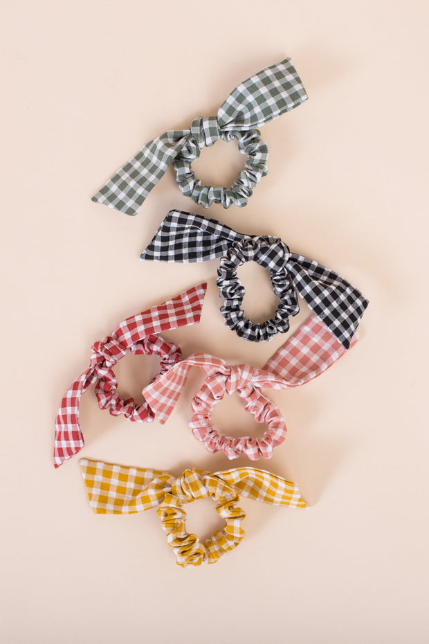Gingham Scrunchie 3 Pack WOMEN'S HAIR ACCESSORY Called to Surf