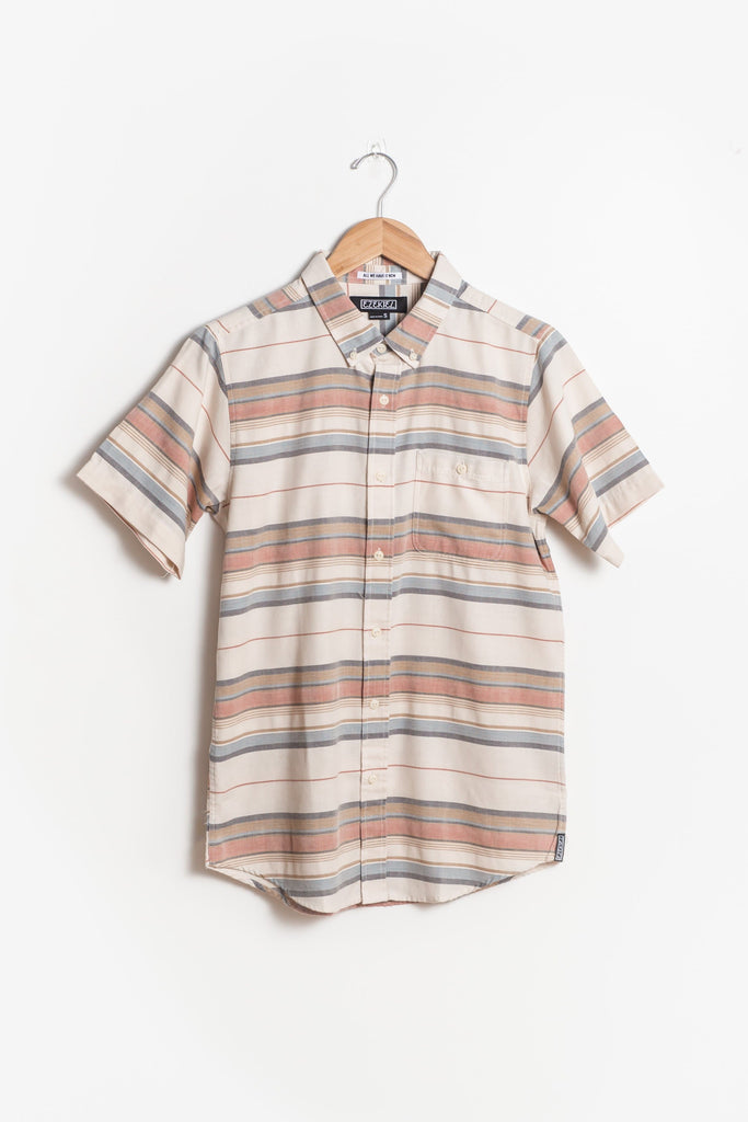 Ezekiel - Men's Wide Stripe Woven Shirt MEN'S WOVENS Ezekiel