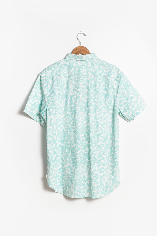 Quicksilver - Dots Flowers Men's Shirt MEN'S WOVENS Called to Surf