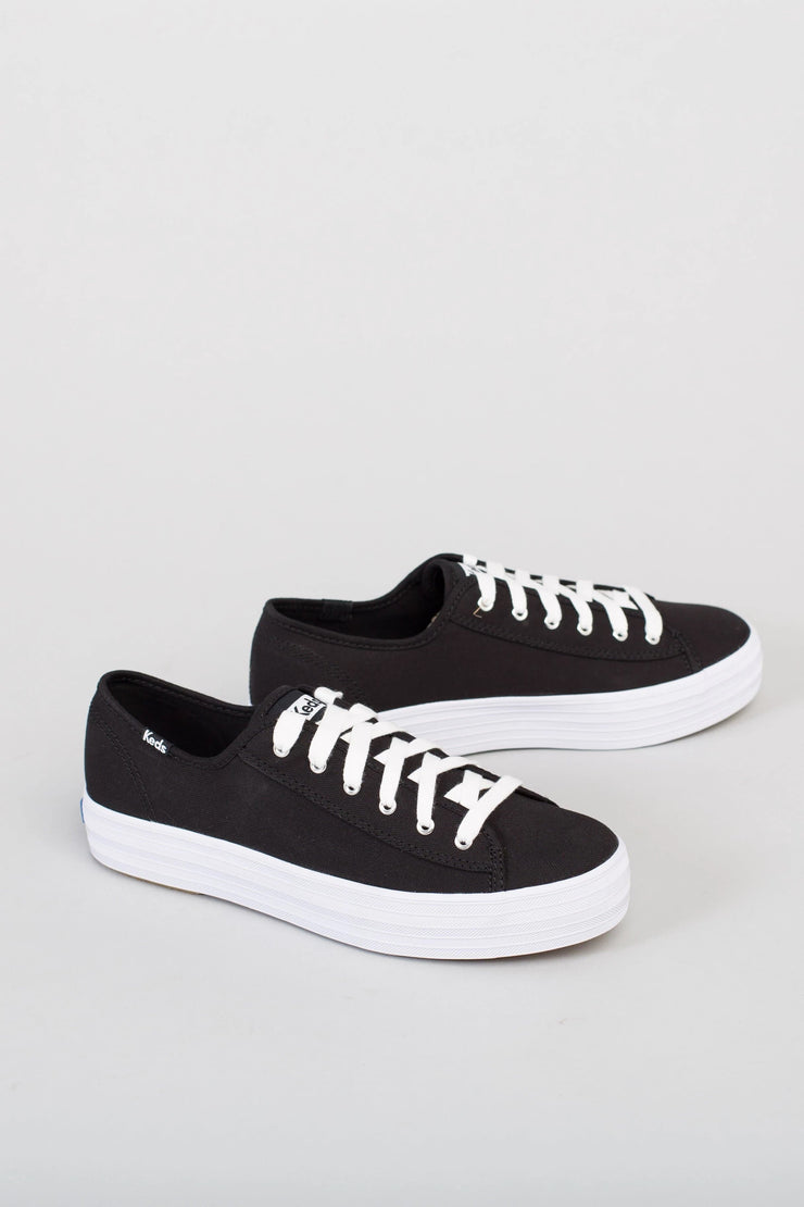 Keds Platform Canvas Sneakers Variable Called to Surf 6 Black