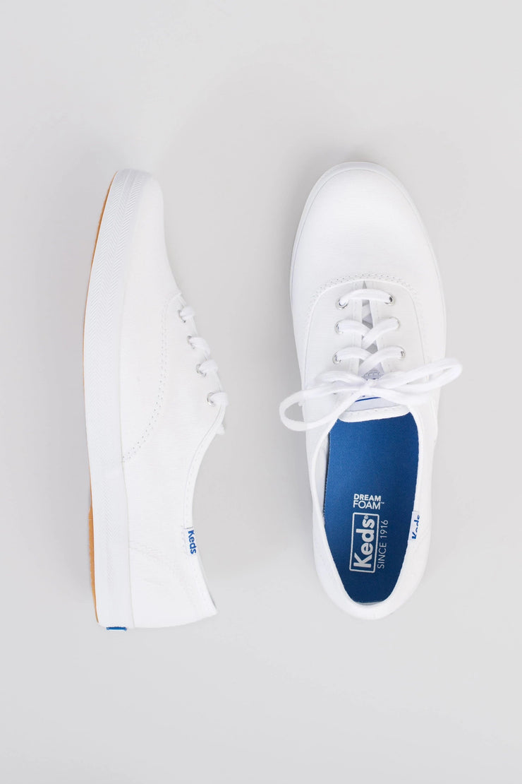 Keds Champion Canvas Sneaker Variable Called to Surf 6 White