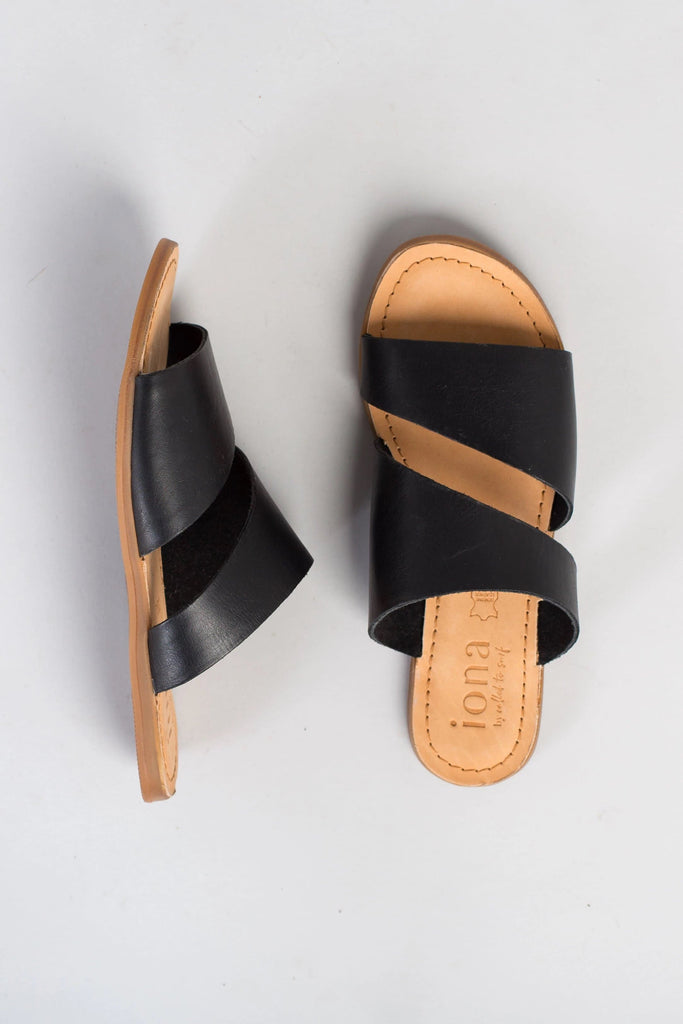 Amy Double Strap Sandal WOMEN'S SANDALS Called to Surf 37 Black