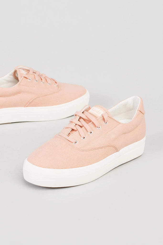 Keds Canvas Platform Sneaker WOMEN'S SHOES Called to Surf 10 Peach