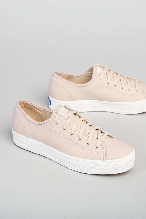 Keds - Leather Platform Sneaker Variable Called to Surf 6 Blush