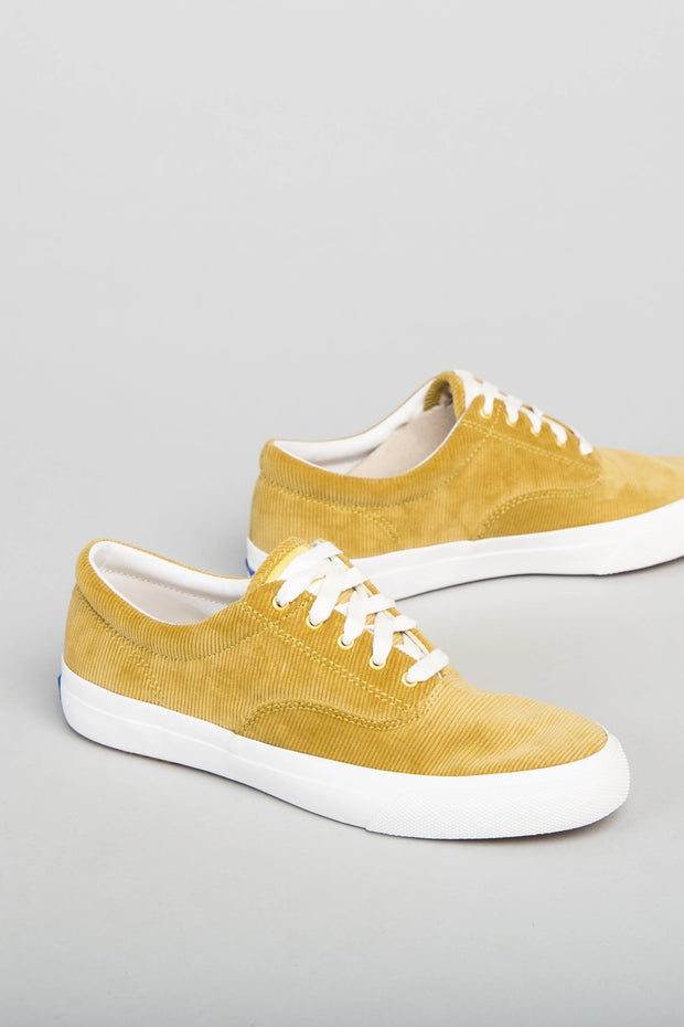 Keds - Corduroy Sneaker Variable Called to Surf 6 Mustard