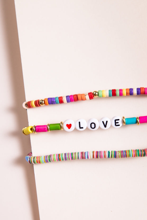 """LOVE"" Bracelet Set WOMEN'S BRACELET Cove"