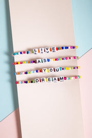 """Live as You Dream"" Bracelet Set WOMEN'S BRACELET Cove"