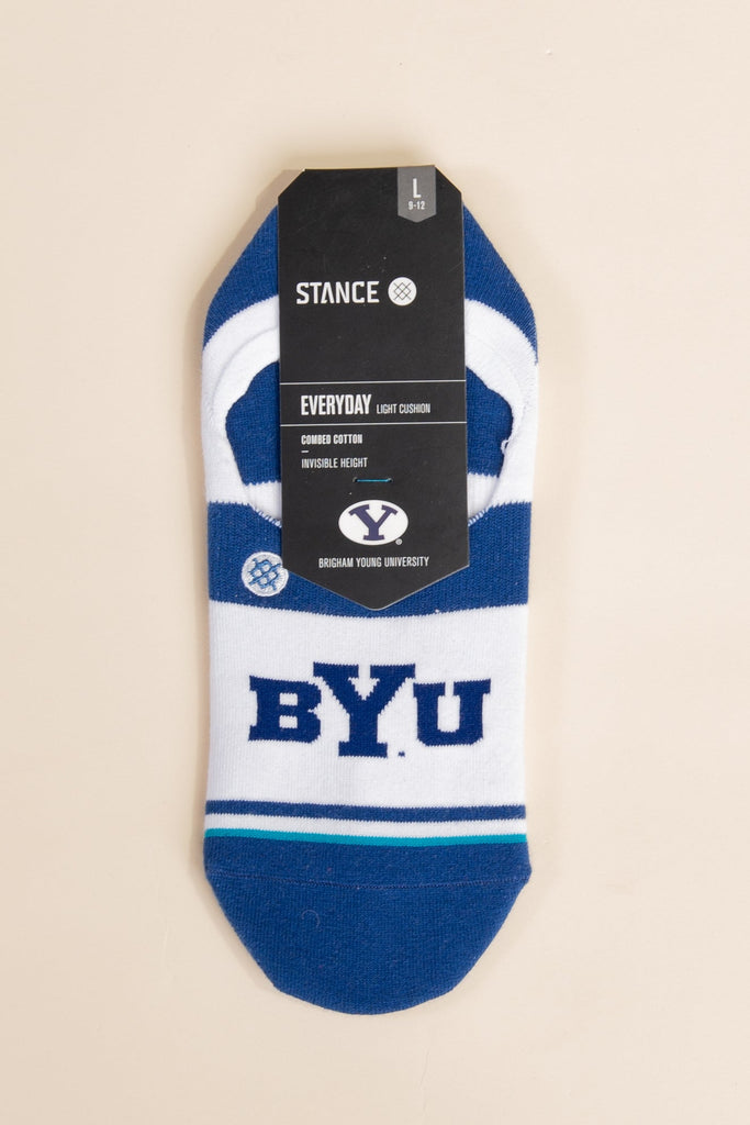 Stance - BYU No Show Sock MEN'S SOCKS Called to Surf