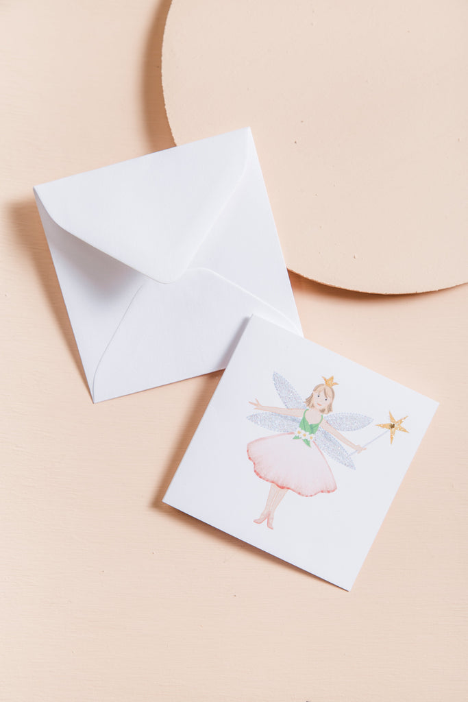 Fairy - White Gift Card CARDS Karen Adams