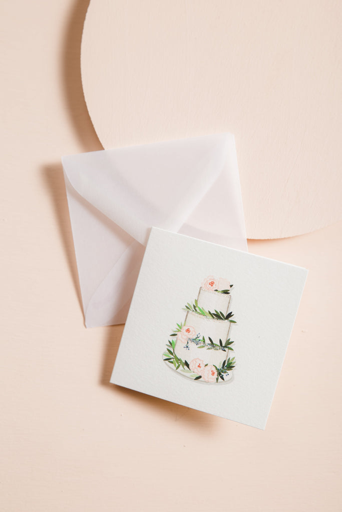 Buttercream - White Gift Card CARDS Karen Adams