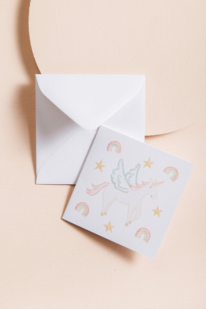 Magical Gift Unicorn Mini Card CARDS Karen Adams