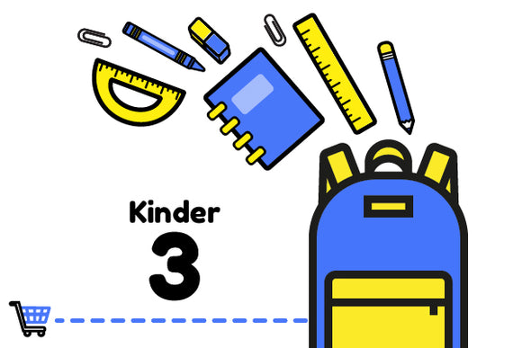 Paquete Escolar - 3° Kinder LINCOLN SCHOOL